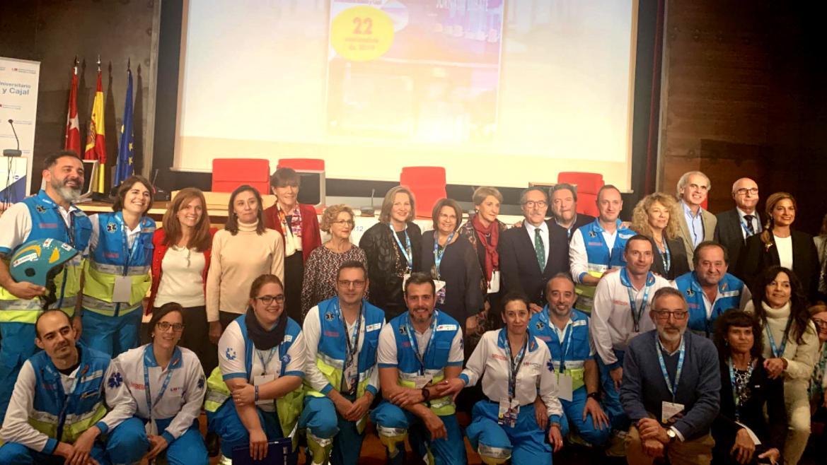 Foto de familia de los participantes de la Jornada