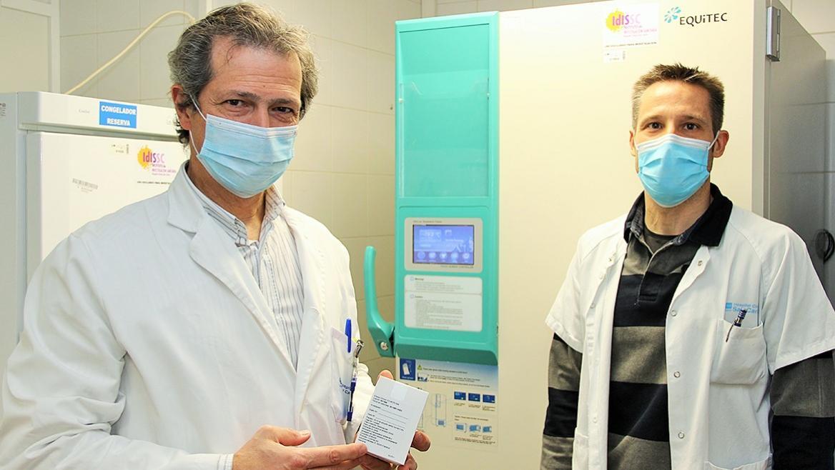 Antonio Portolés y José Julio Gómez, del Hospital Clínico San Carlos