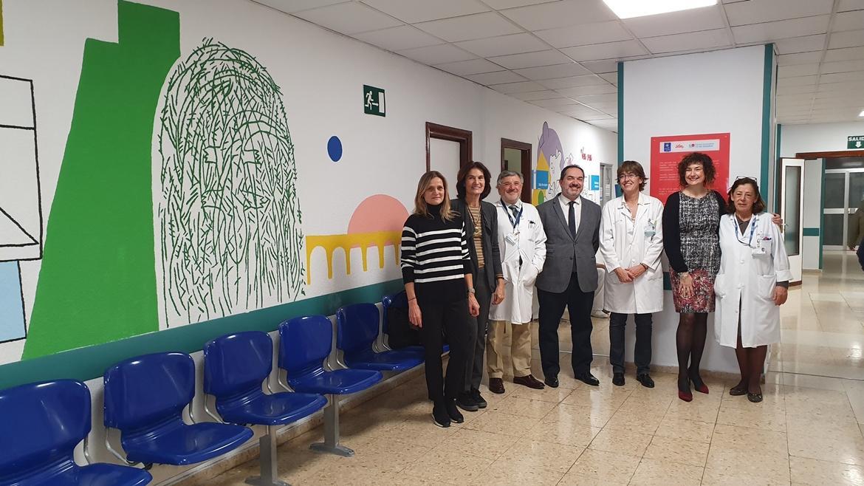 Posado de la Dirección del Hospital 12 de Octubre, Fundación Pequeño Deseo y lilly