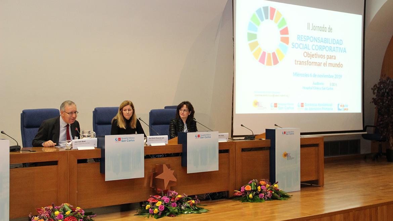 Inauguración de la II Jornada de Responsabilidad Social Corporativa