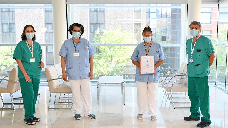 personal de neonatologia del marañon