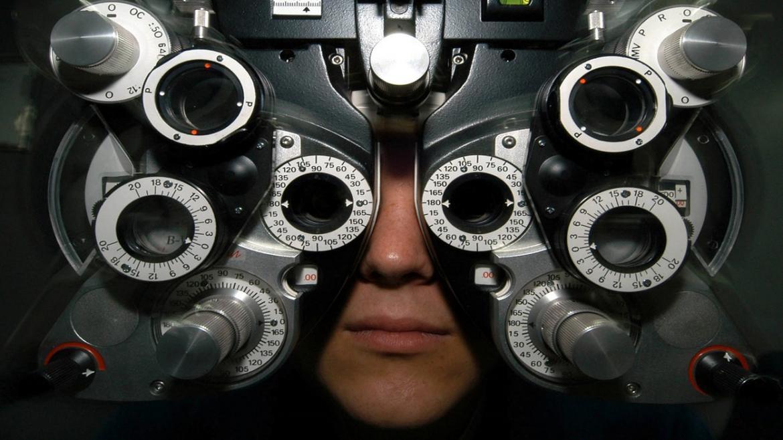 Medición de optometría