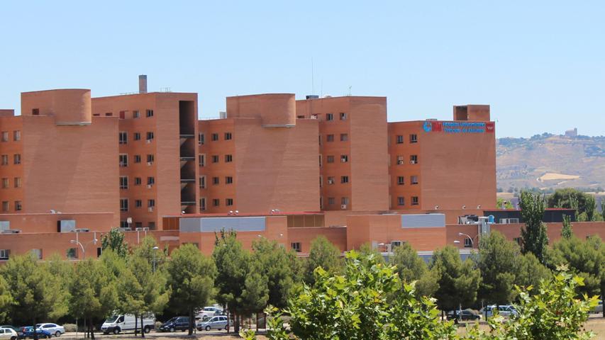 Imagen panorámica del Hospital Príncipe de Asturias, Alcalá de Henares