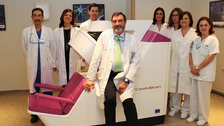 Foto de familia del servicio de Medicina Nuclear del Hospital Clínico San Carlos