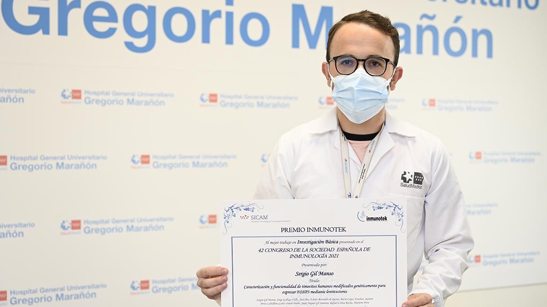 Premian una investigación del Hospital Gregorio Marañón sobre células del tejido tímico | Comunidad de Madrid