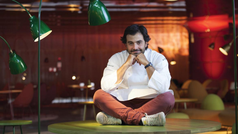 Retrato del chef Javier Muñoz