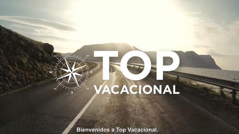 Top Vacacional cartel de la campaña de prevención de accidentes de tráfico en Semana Santa de la DGT en colaboración con Sanidad de la Comunidad de Madrid