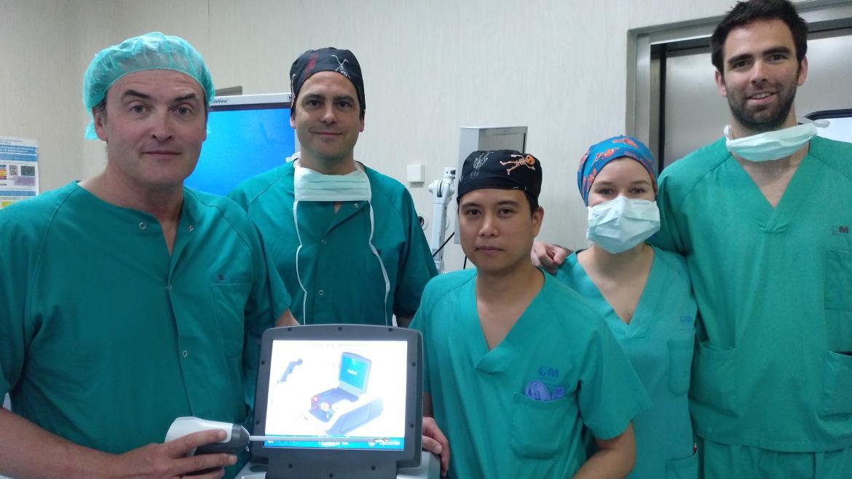 procedimiento de microondas para agrandamiento de la próstata