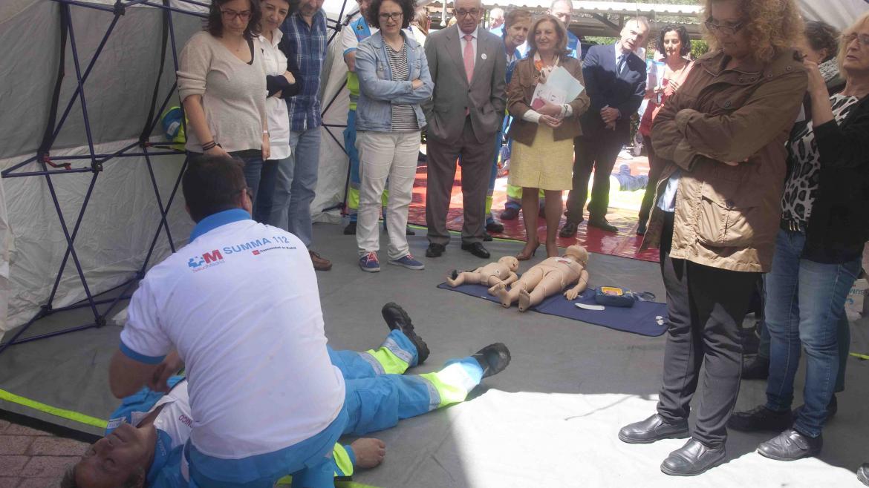 Imagen de una actividad de la Escuela Madrileña de Salud
