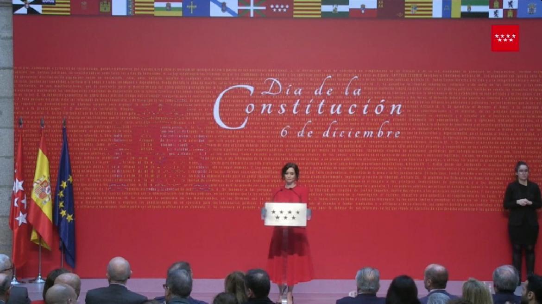 Acto homenaje a la Constitución 2 de diciembre de 2019