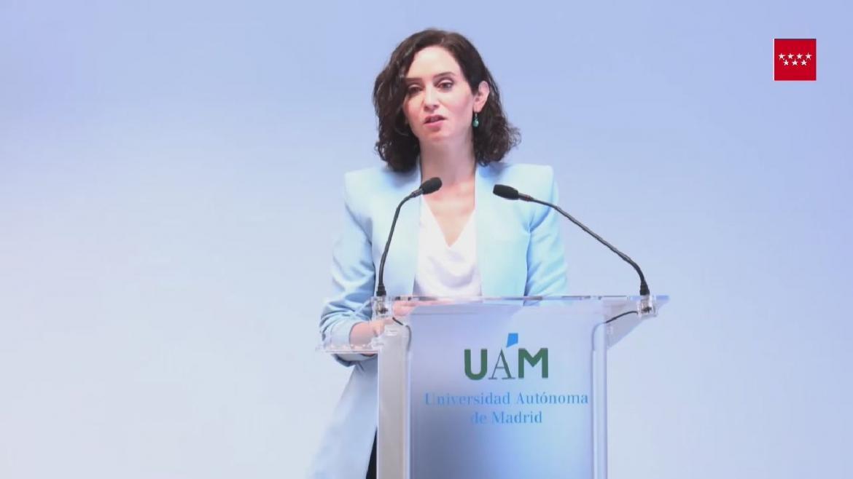 Acto de toma de posesión de la nueva rectora de la UAM