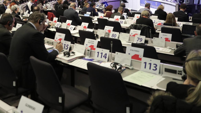 Pleno de las Regiones en Bruselas