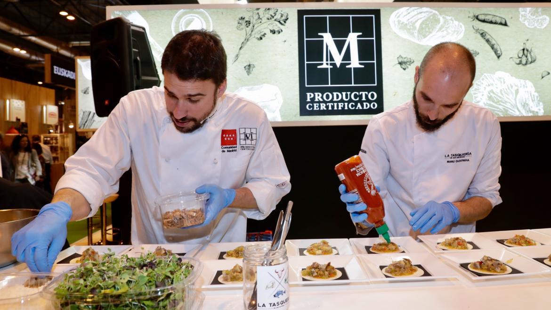 Productos madrileños publicitados en Madrid Fusión