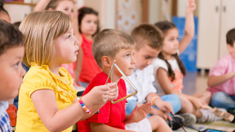 Clase de Educación Infantil