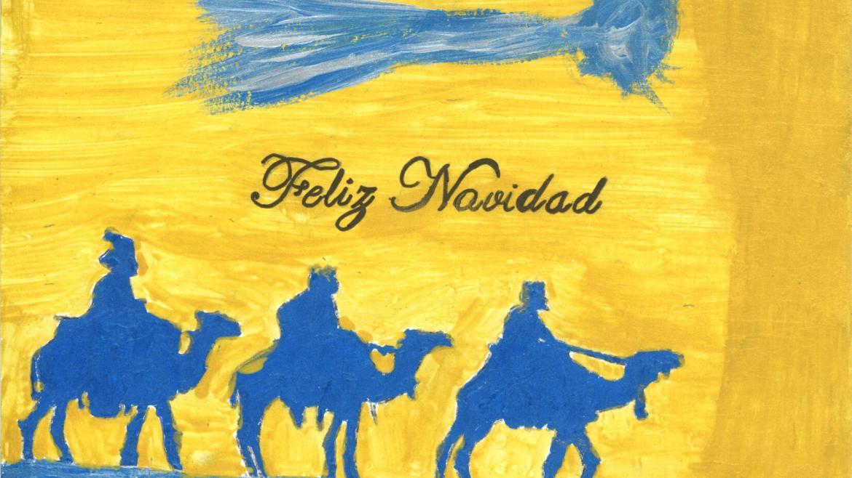 Una tarjeta navideña de los menores infractores de la región