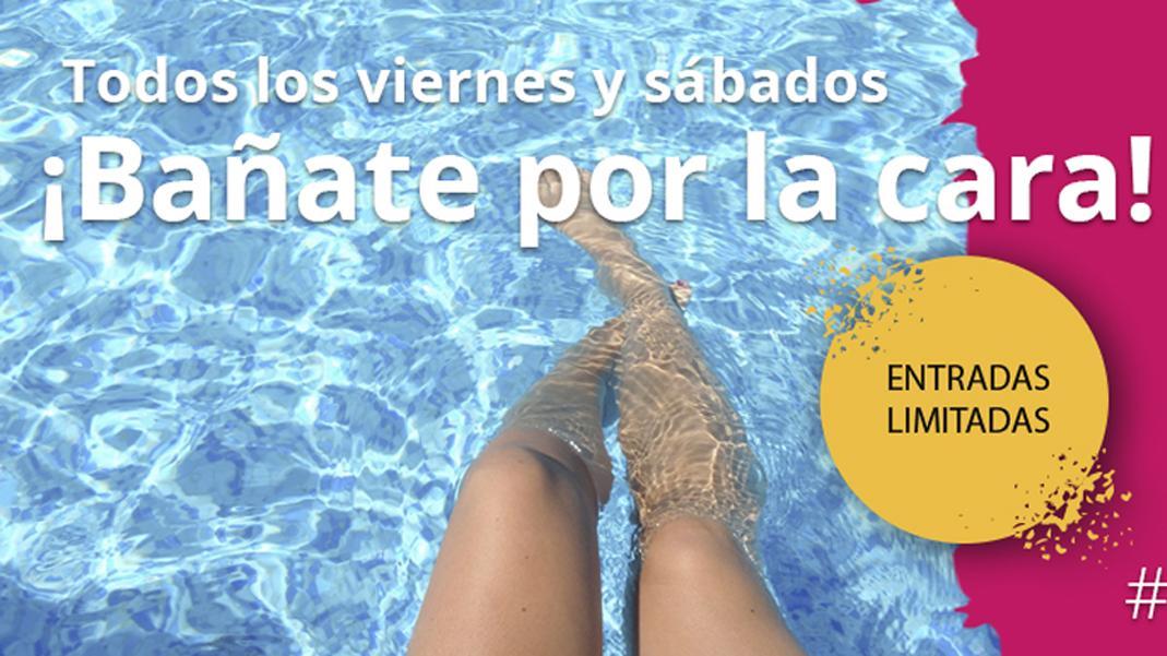 Acceso gratuito a piscinas con Carné Joven