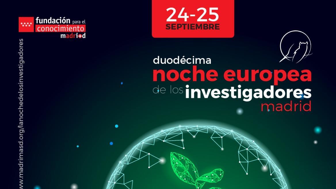 Cartel oficial Noche Europea de los Investigadores
