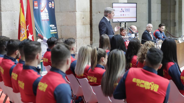 Ángel Garrido, presenta el Mundial de Kárate, un nuevo evento deportivo internacional que elige Madrid como sede