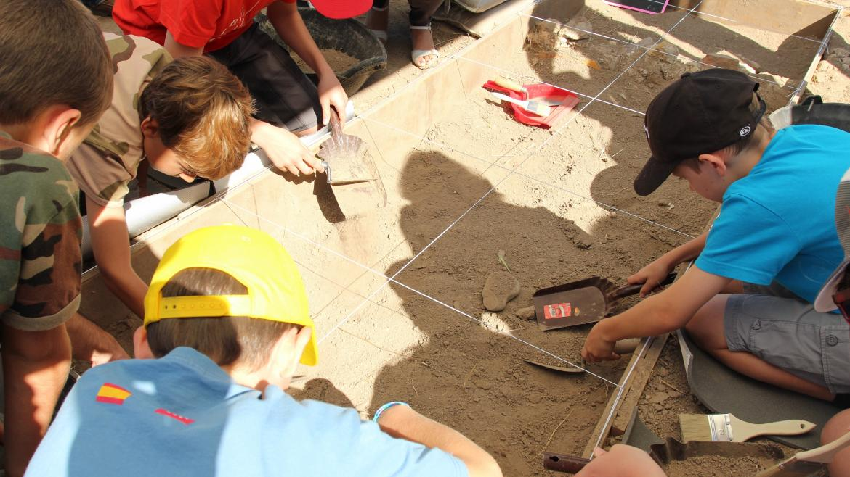 Programa educativo 'Arqueólogos por un día'