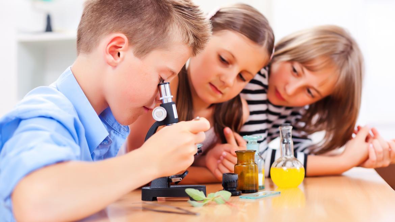 Niños y ciencia
