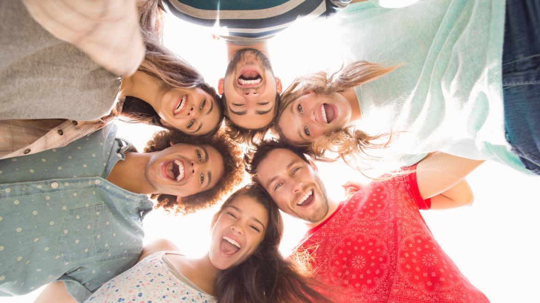 Grupo de jóvenes programa Erasmus+