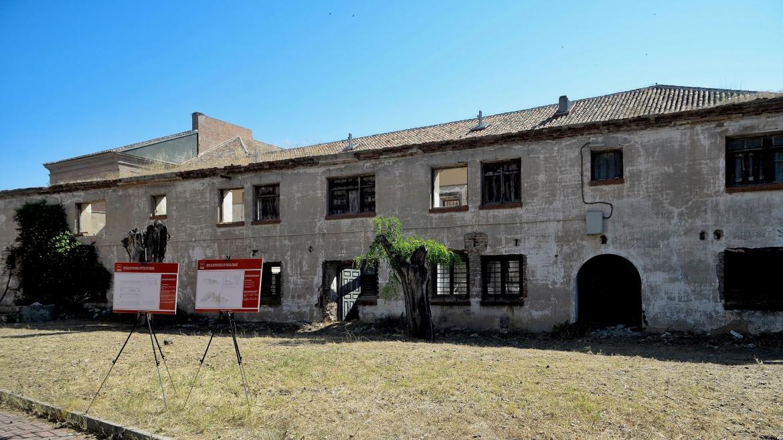 La Comunidad recupera un edificio del casco histórico de Alcalá como pabellón multiusos para los juzgados
