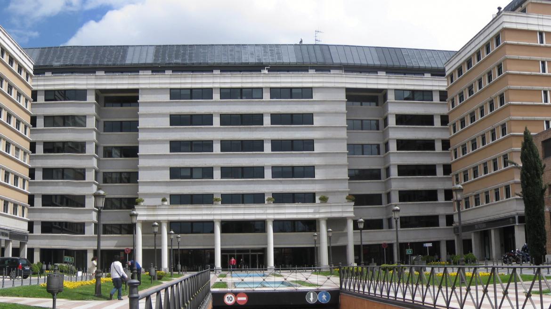 Fachada de las oficinas del CRTM