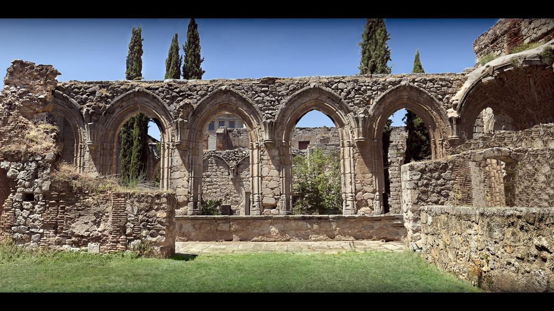 Monasterio de Santa María La Real en Pelayos de la Presa