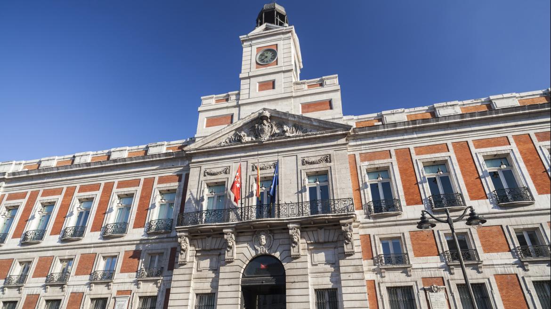 Fachada de la Real Casa de Correos