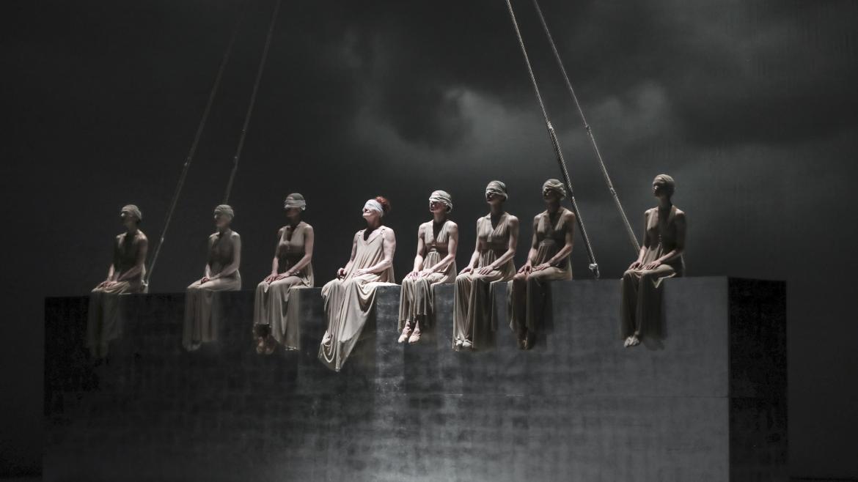 Escena del Ballet Nacional de Belgrado