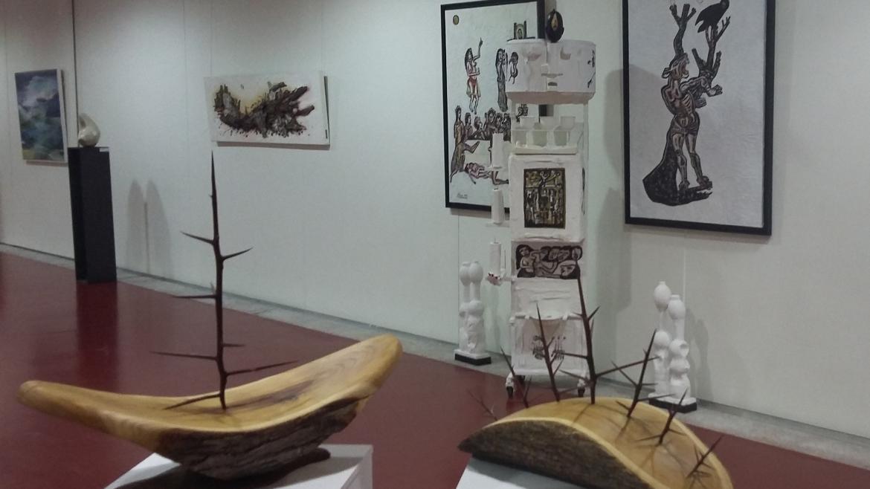 Artistas de la Sierra Norte de la Comunidad de Madrid muestran su obra en La Cabrera