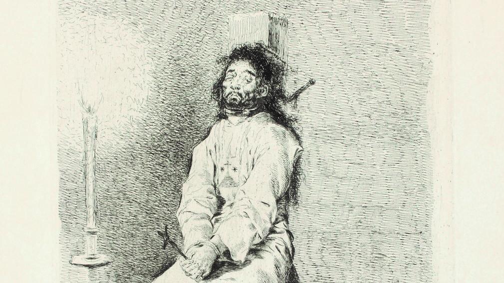 Goya - El agarrotado