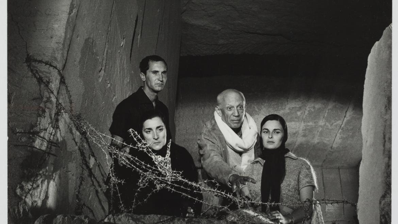 Picasso durante el rodaje