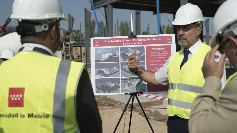 La Comunidad de Madrid contará con un nuevo parque de bomberos en Alcobendas en 2019
