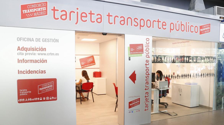 Oficina de Gestión para los usuarios de la Tarjeta de Transporte Público