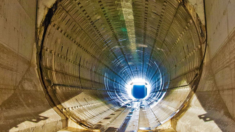 Imagen de un colector de aguas residuales