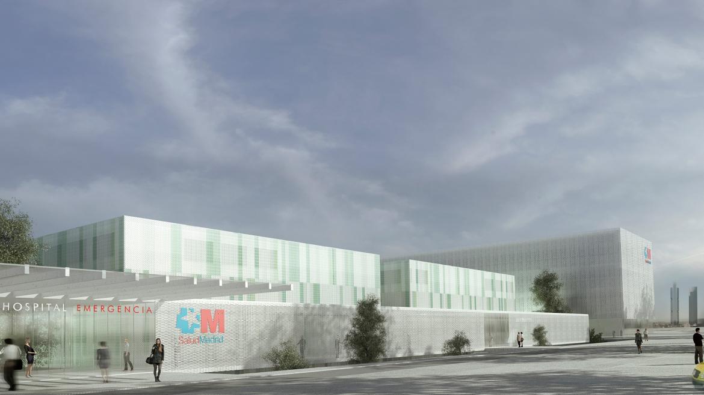 Imagen del nuevo Hospital de Emergencias de la Comunidad de Madrid