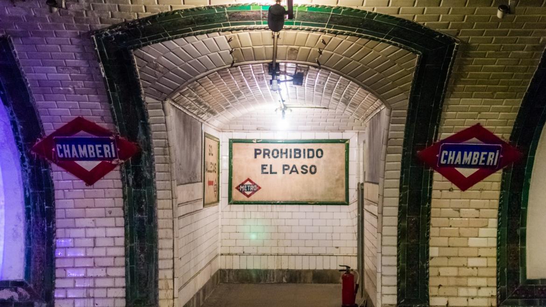 Estación de Chamberí de Metro de Madrid