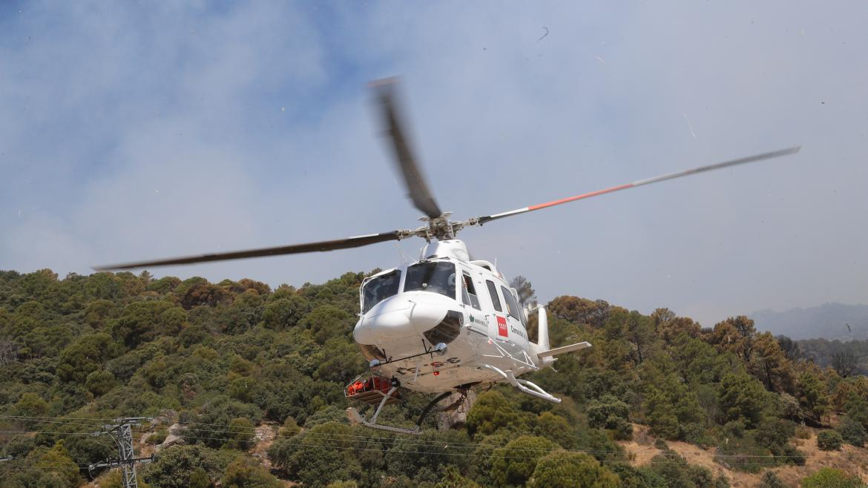 Un helicoptero