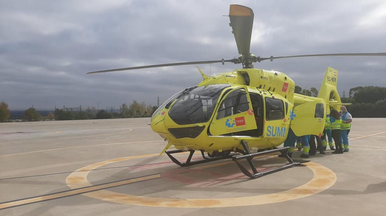 helicópteros del SUMMA 112