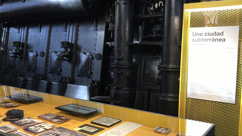 Exposición 100 años de Metro, imagen de la ciudad subterránea