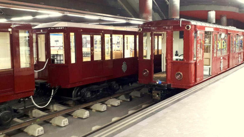 La exposición de la estación de Metro de Chamartín