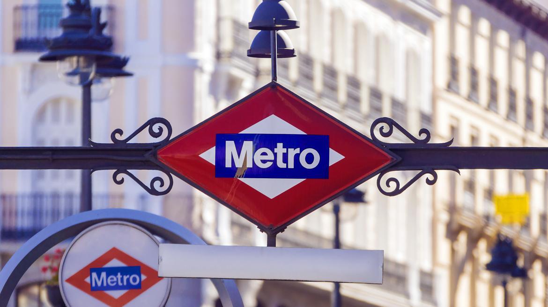 Cartel Metro de Madrid