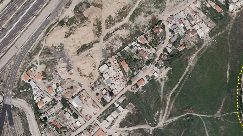 Vista aérea de la Cañada Real Galiana