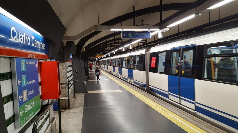 Estación de Metro de Madrid, Cuatro Caminos
