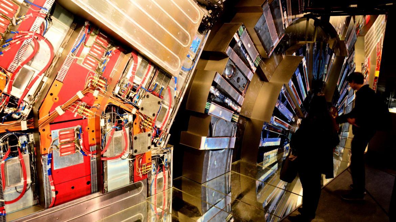 Interior del CERN (Organización Europea para la Investigación Nuclear)