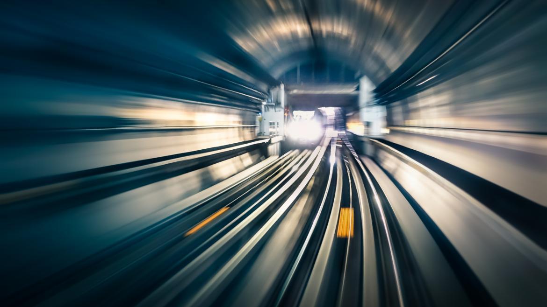 Tunel metro