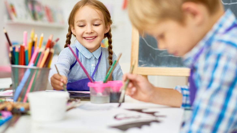 Escuela Infantil con niños