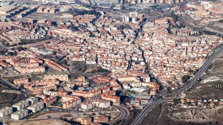 Vista aérea Arganda del Rey