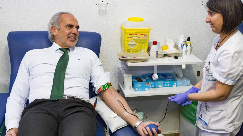 La Comunidad pone en marcha la Campaña de Navidad de donación de sangre bajo el lema 'Llénala de vida, dona sangre'